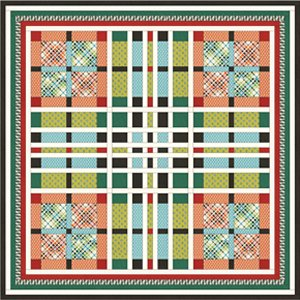Denyse Schmidt Florence Quilt Kit - Home Accessories