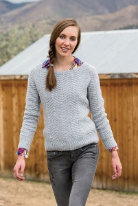Cascade 200 Heathers Feathernest Raglan Kit - Women's Pullovers