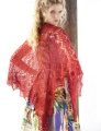 Kits Zealana Air Red Lace Shawl Kits