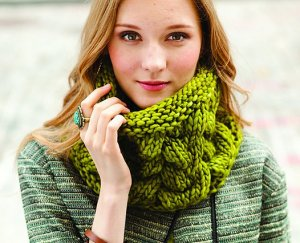 Malabrigo Rasta Broome Cowl Kit - Scarf and Shawls