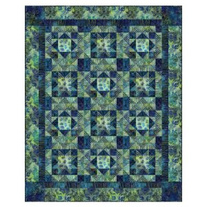 Michael Miller Fabrics Batiks Midnight Sky Quilt Kit - Home Accessories