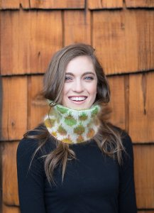 Rowan Kidsilk Haze & Kidsilk Haze Stripe Double-Knit Cowl Kit - Women's Accessories