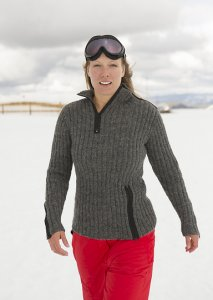 Rowan Creative Focus Worsted Podium Pullover Kit - Women's Pullovers