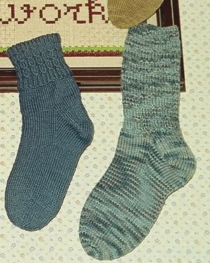Fiber Trends Pattern Patterns - Hellen's Socks Pattern