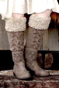 Berroco Flicker Wanderwillows Boot Socks Kit - Socks