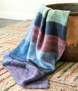 Zitron Patina Old Denim Blanket Kit - Home Accessories