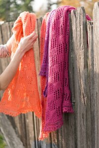 Zitron Kimono Lace Blocks Scarf & Stole Kit - Scarf and Shawls