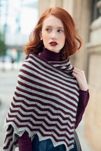 Bijou Basin Ranch Seraphim Velocity Shawl Kit - Crochet for Adults