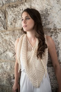 Berroco Folio Sliver Shawlette Kit - Scarf and Shawls