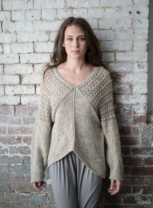 Berroco Floret Yaw Pullover Kit - Women's Pullovers