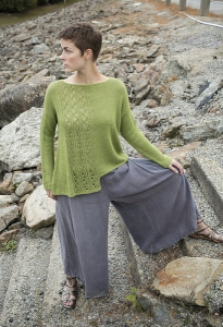 Berroco Folio Iwi Sweater Kit - Women's Pullovers
