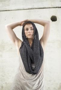 Berroco Folio Kurama Cowl Kit - Scarf and Shawls