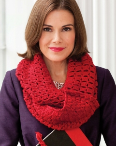 Berroco Vintage Bobble & Check Cowl Kit - Crochet for Adults