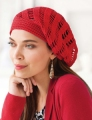 Tahki Cotton Classic Lite Vortex Slouchy Hat Kit