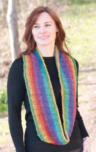 Cascade Souk Double Woven Rib Cowl  Kit - Scarf and Shawls