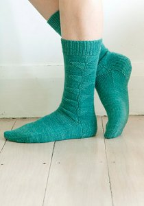 Koigu KPM Bird of Paradise Socks Kit - Socks