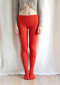 Koigu KPM Tangerine Tights Kit - Women's Accessories