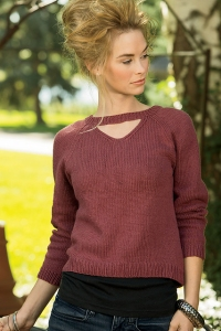 Rowan Creative Linen Field Bazaar Sweater Kit - Women's Pullovers