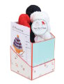 Spud & Chloe Gift Boxes Kits - Collegiate Hat Gift Box - Red, White, Black