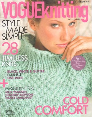Vogue Knitting International Magazine - '14 Holiday