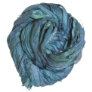 Darn Good Yarn Sari Silk Ribbon Yarn - Blues Galore