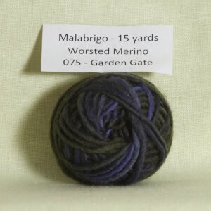 Malabrigo Worsted Merino Samples Yarn - 075 Garden Gate (Backordered)