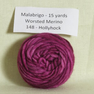 Malabrigo Worsted Merino Samples Yarn - 148 Hollyhock