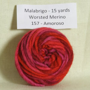 Malabrigo Worsted Merino Samples Yarn - 157 Amoroso