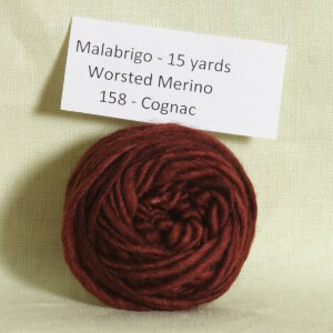 Malabrigo Worsted Merino Samples Yarn - 158 Cognac