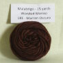Malabrigo Worsted Merino Samples - 181 Marron Oscuro
