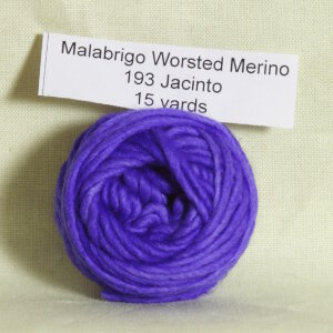 Malabrigo Worsted Merino Samples Yarn - 193 Jacinto