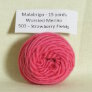 Malabrigo Worsted Merino Samples - 503 Strawberry Fields