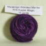Malabrigo Worsted Merino Samples Yarn - 609 Purple Magic