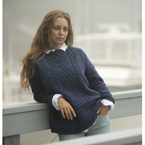 Swans Island Patterns - Breakwater Pullover