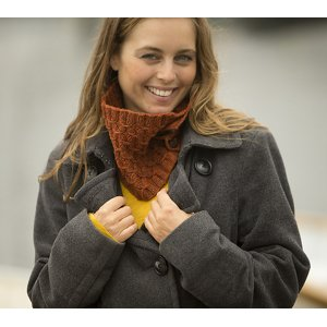 Swans Island Patterns - Spindrift Cowl Pattern