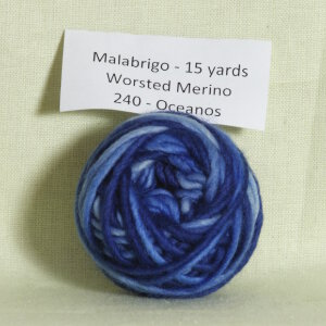 Malabrigo Worsted Merino Samples Yarn - 240 Oceanos