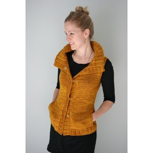 The Yarniad Patterns - Mielie Vest Pattern