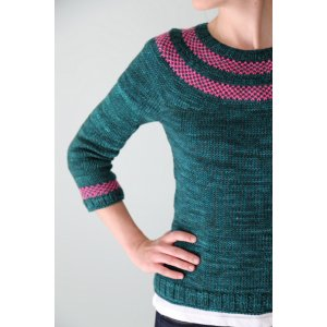 The Yarniad Patterns - Lysa Pullover Pattern