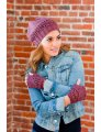 Plymouth Women's Accessory Patterns - 2754 Women's Hat & Fingerless Mitt Set