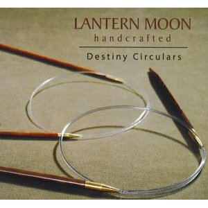 Lantern Moon Rosewood Circulars Needles - US 3 16 Needles
