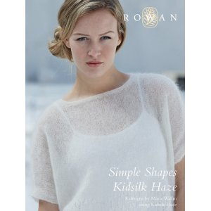 Rowan Pattern Books - Simple Shapes Kidsilk Haze