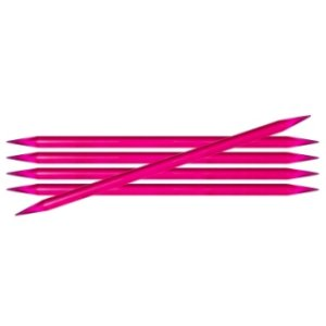 "Knitter's Pride Trendz Double Pointed Needles - US 11 (8.0mm) - 8"" Purple (Fuchsia) Needles"