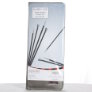 "Knitter's Pride Karbonz Single Point 10"" Needle Set Needles"