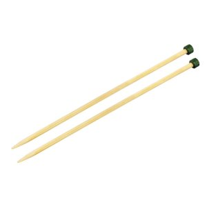 "Knitter's Pride Bamboo Single Pointed Needles - US 6 (4.0mm) - 13"" Needles"