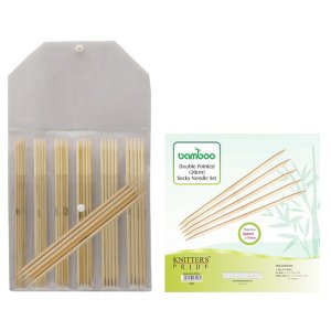 Knitter's Pride Bamboo Double Pointed Sock Needle Sets Needles