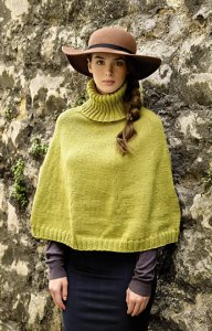 Rowan Pure Wool Worsted Cairn Poncho Kit - Women's Accessories