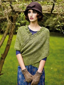 Rowan Fine Art Baines Shawl Kit - Crochet for Adults
