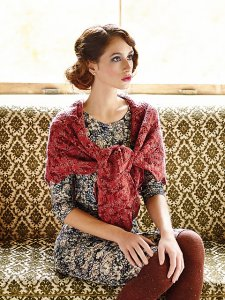 Rowan Fine Art Methven Shawl Kit - Crochet for Adults