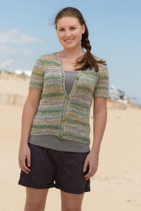 Classic Elite Bella Lino Sul Cardigan Kit - Women's Cardigans