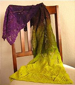 Knitwhits Freia Lace Sonoma Shawl Kit - Scarf and Shawls